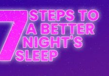 Seven Steps to a Better Night's Sleep_