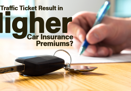 Will a Traffic Ticket Result in Higher Car Insurance Premiums_